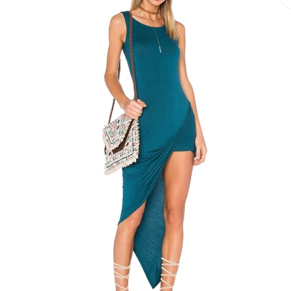 Delacy Los Angeles Dresses & Skirts - High low teal Delacy dress